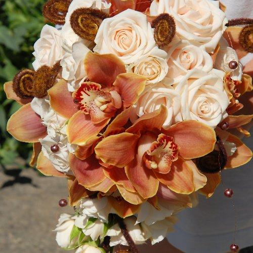 Svatební kytice převislá