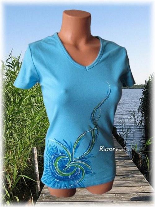 dámské tričko voda