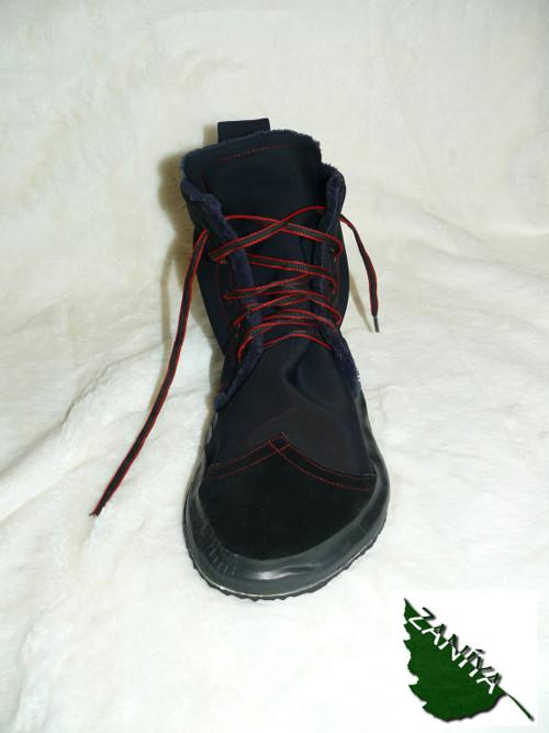 Barefoot zimní vysoké pánské botky