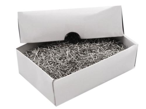 Celokovové špendlíky 16 mm (500g = 9140ks)