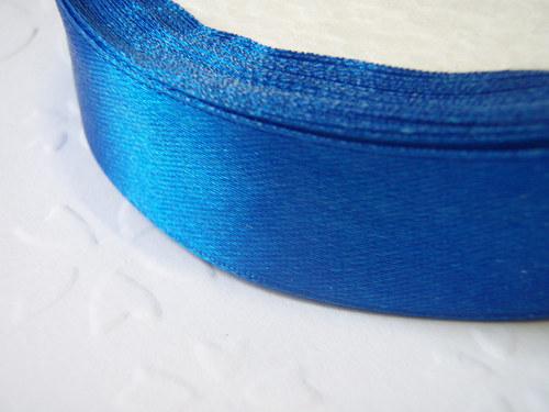 stuha modrá šíře 20 mm (1m)