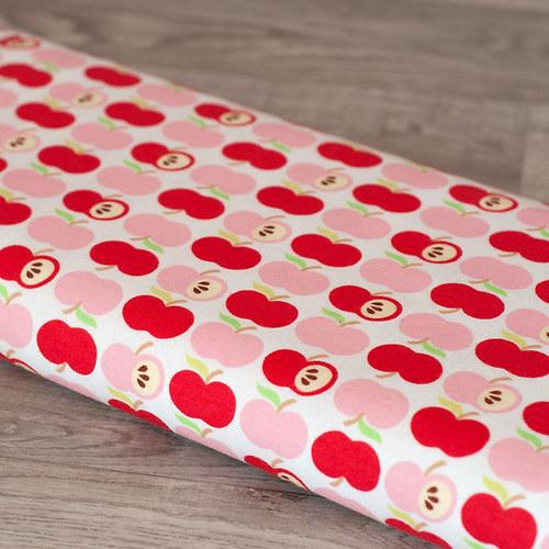 Jablíčka červená - úplet