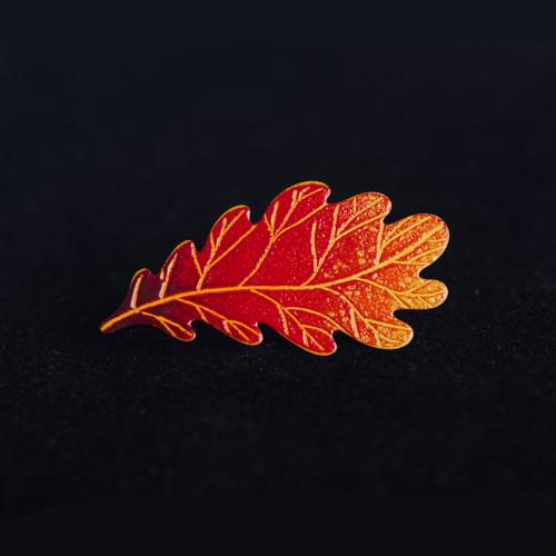 brož dubový list