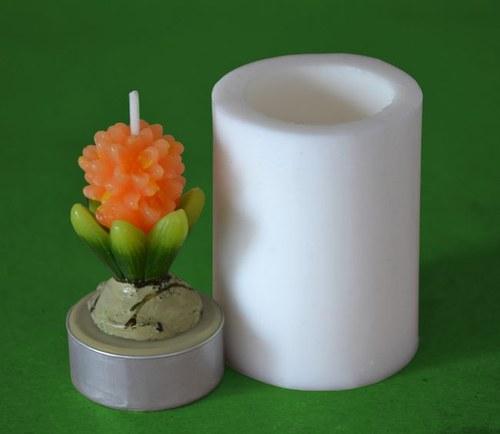 Silikonová forma na čaj. svíčku - Hyacintek