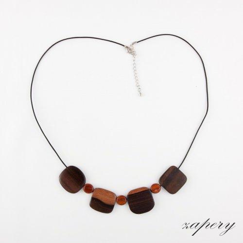 náhrdelník z filipínského dřeva