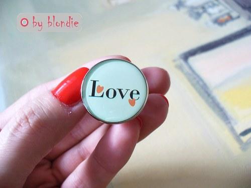 Love ♥♥♥  - prsteň