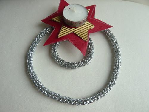 Stříbrná linka - velký set náhrdelník+náramek