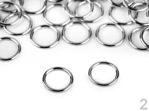 Kroužek pratelný Ø8mm (50ks) - nikl