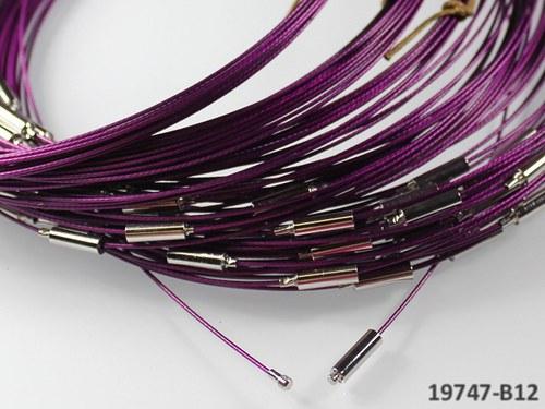 19747-B12 Lanko TM.FIALOVÉ 45 s hladkým šroubkem