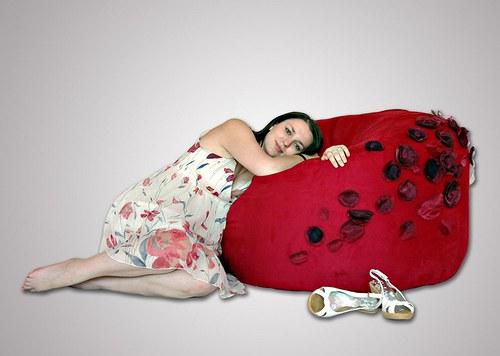 Relaxační křeslo pro ženu