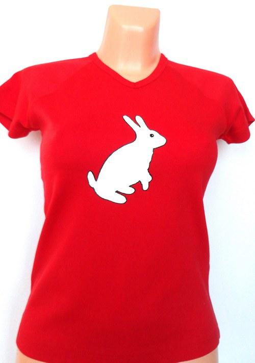 Tričko dámské Zajíček