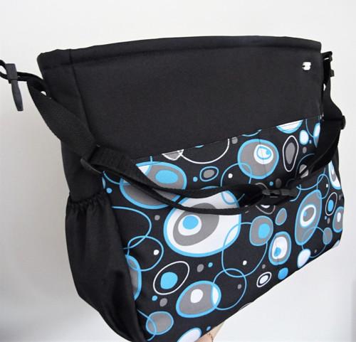 Nepromokavá taška na kočárek Extra #7 - 70 vzorů