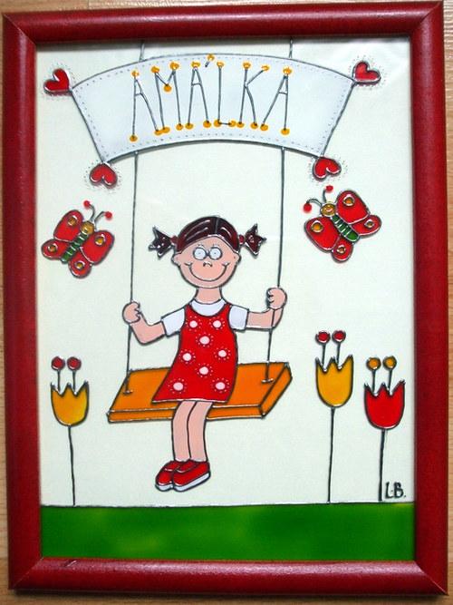Jmenovky na dveře dětských pokojíčků