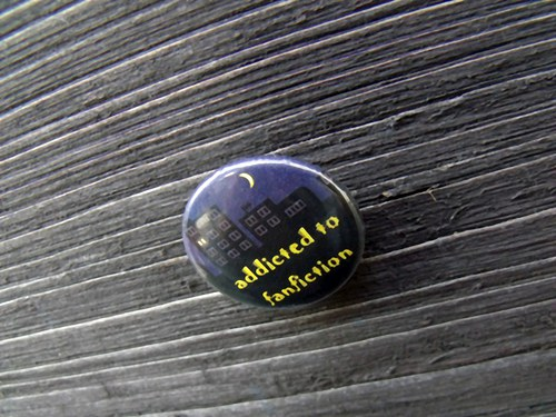 "Button ""Addicted to fanfiction\"" - varianta 2"