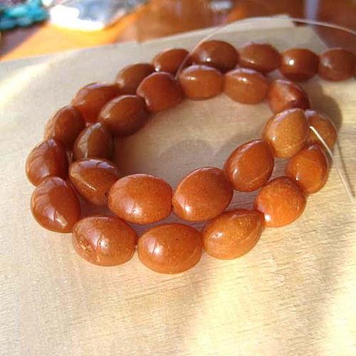 Kalcit Oranžový - 12x15mm