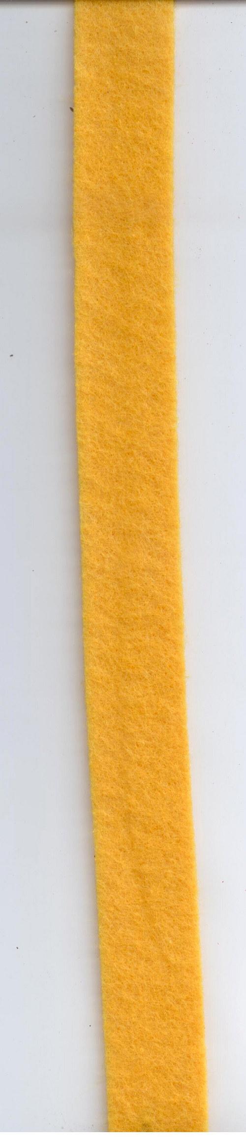 Stuha filcová žlutá