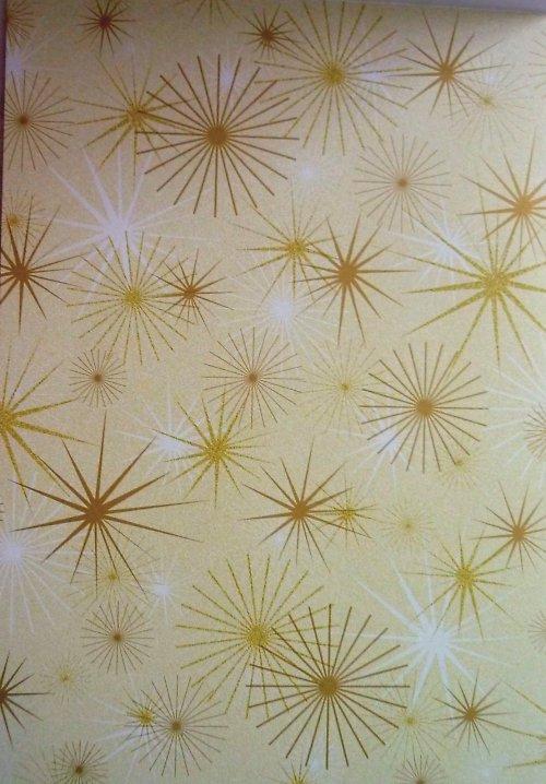 Papír A4 Gold Stars- kolekce Třpytivá Elegance