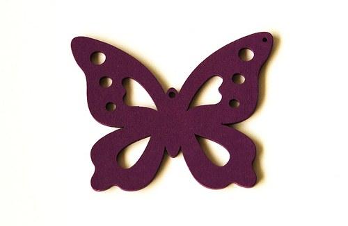 dřevění motýlci- fialoví