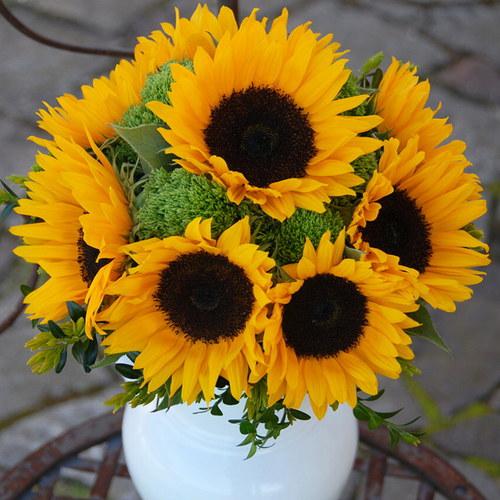 Svatební ze slunečnic