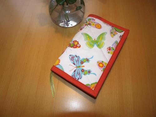 Obal na knihu- motýlci