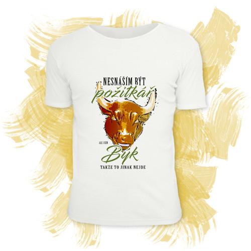 Tričko unisex s motivem zvěrokruhu - Býk