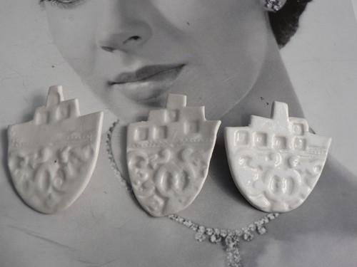 Keramika, Porcelánky Loďky. - brož