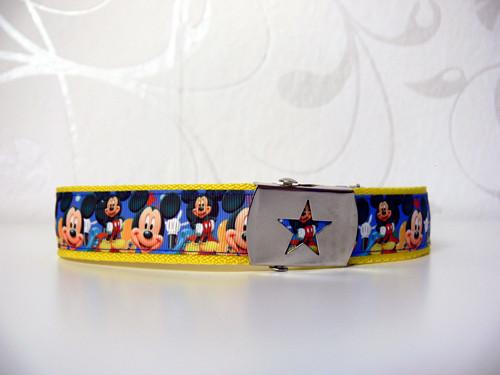 Dětský pásek Mickey