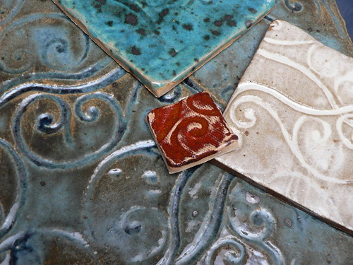 Kachličky Provence tyrkysové...a jiné