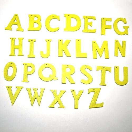 ABCeda písmena a písmenka,  21-23mm  celá sada