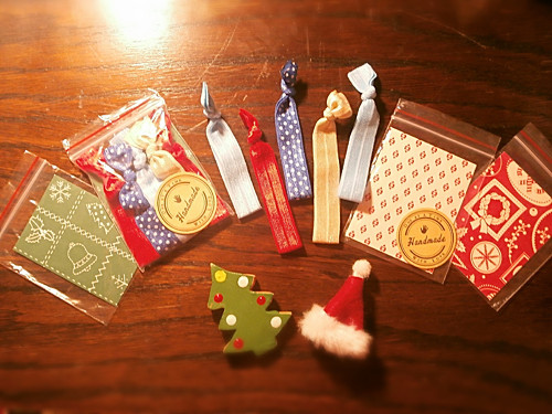 Vánoční balení gumiček do vlasů (5ks) Z