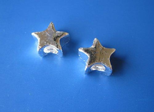 Kovový komponent hvězda, cena za 2ks