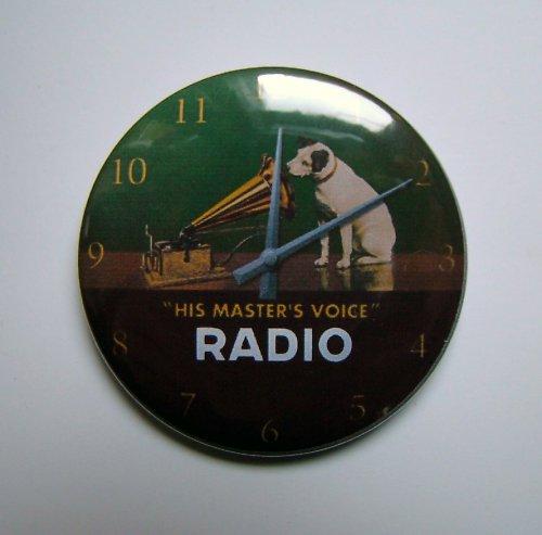 HODINKY - GRAMO & PES - placka - button - 44 mm