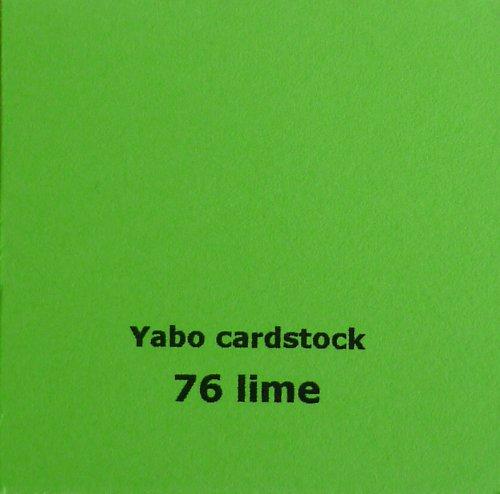 Čtvrtka Yabo - Lime