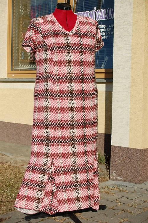 Letní šaty pro baculky