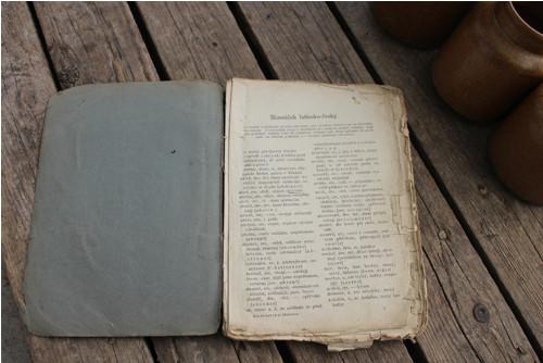 Kniha - Slovníček latinsko-český