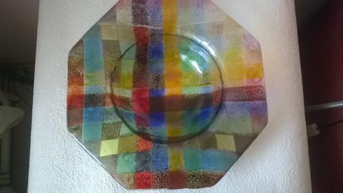 Velká barevná mísa