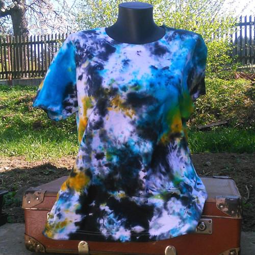Batikované tričko FLek XL