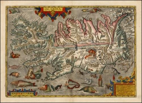 Mapa Island 1609