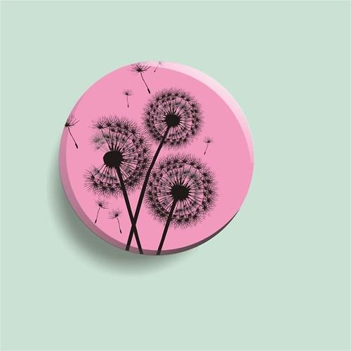 placka růžové blow balls