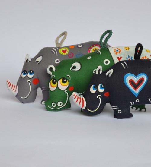 Nosorožec modrý v námořnickém