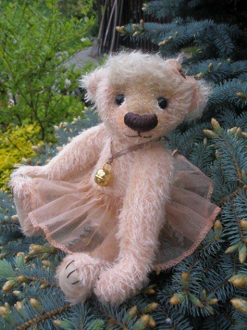 Mohérová medvědice  baletka