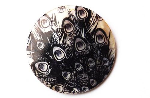440 perleťová placka hrubá