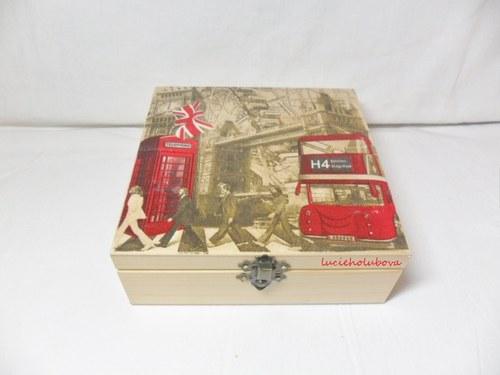 Krabička Londýn