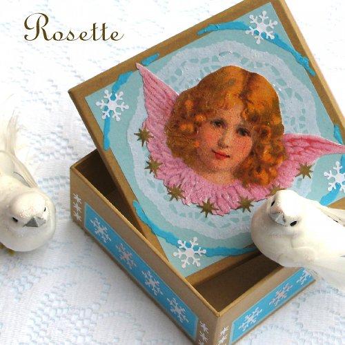 Anděl v závějích - krabička