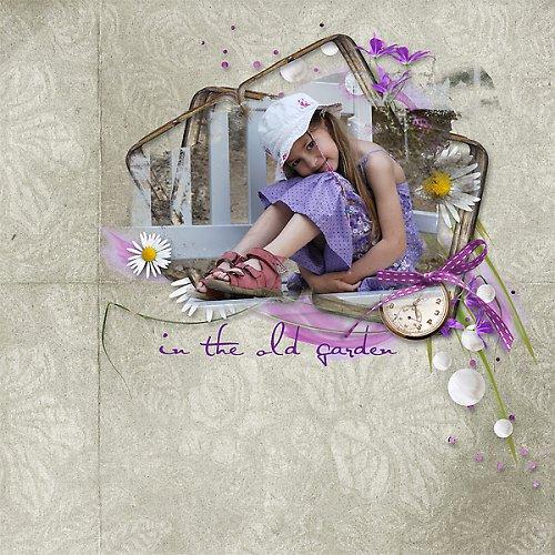 Koláž Zahrada mých snů pro Vaše fotky
