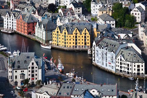 Alesund, Norsko