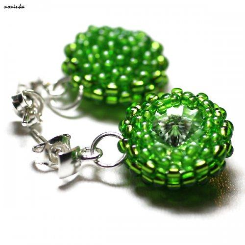 Zelený swarovski