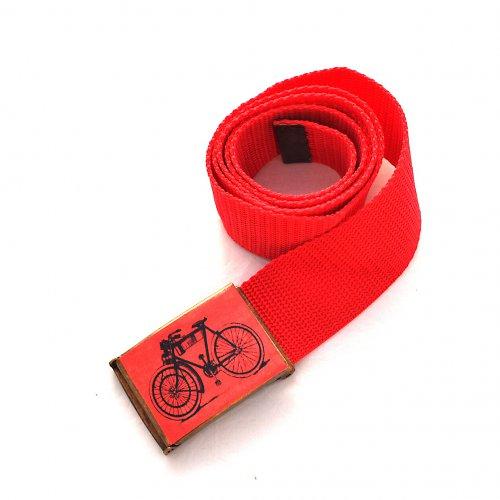 Opasek kolo - červená