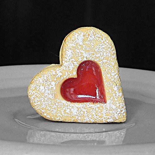 Linecké srdce - magnet