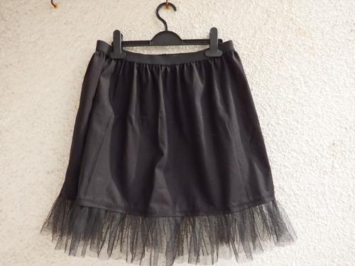 Spodnička krátká černá, skladem